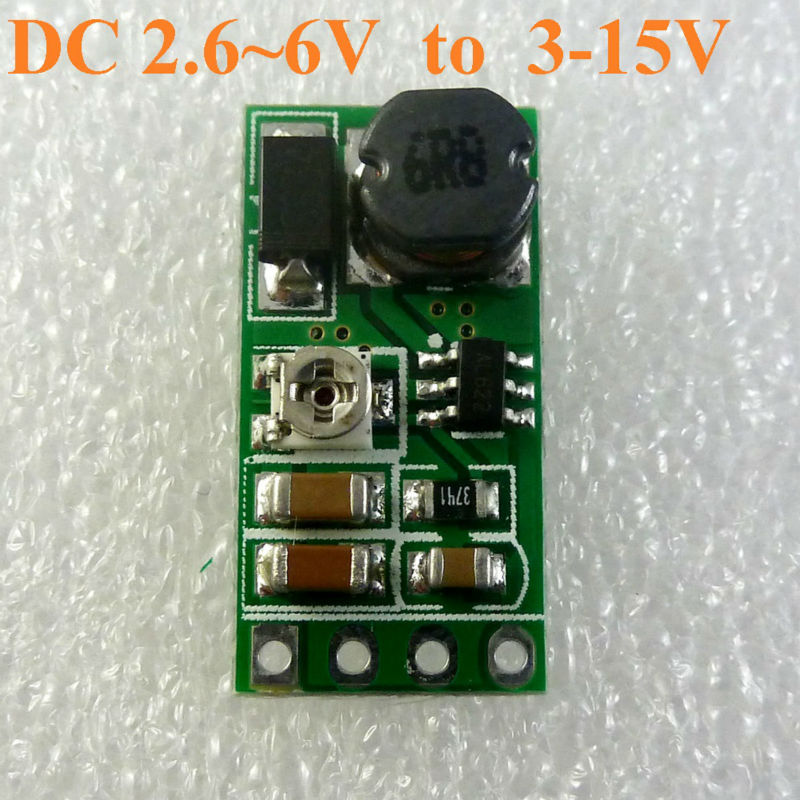 Dd06ajsb Dc 3 3v 3 7v 5v To 6v 9v 12v Adjustable Step Up