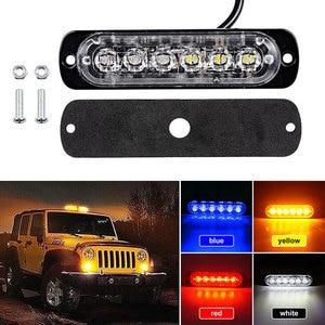 6/4 LED 12-24V Yellow/Red/Blue