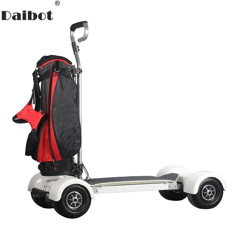 Daibot adulte Scooter électrique 4 roues chariot de Golf auto équilibrage Scooters 1000 W 60 V Golf Scooter conseil électrique planche à roulettes Scooter