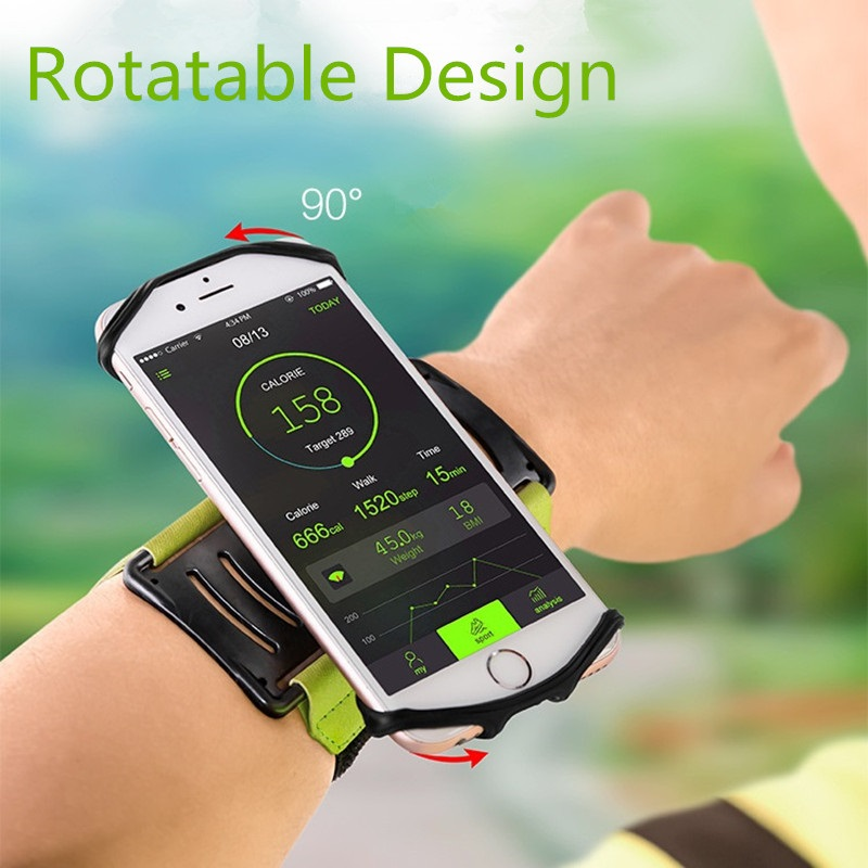 Universal Professional Sports Armband Running Fitness Cycling Armlet Arm Band for 4-6 inch Phone Devices Rotatble Armbands Case