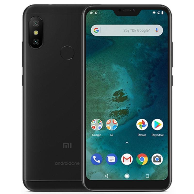 Xiao mi mi A2 Lite, Version globale, couleur noire (noir), double SIM, écran 5.84