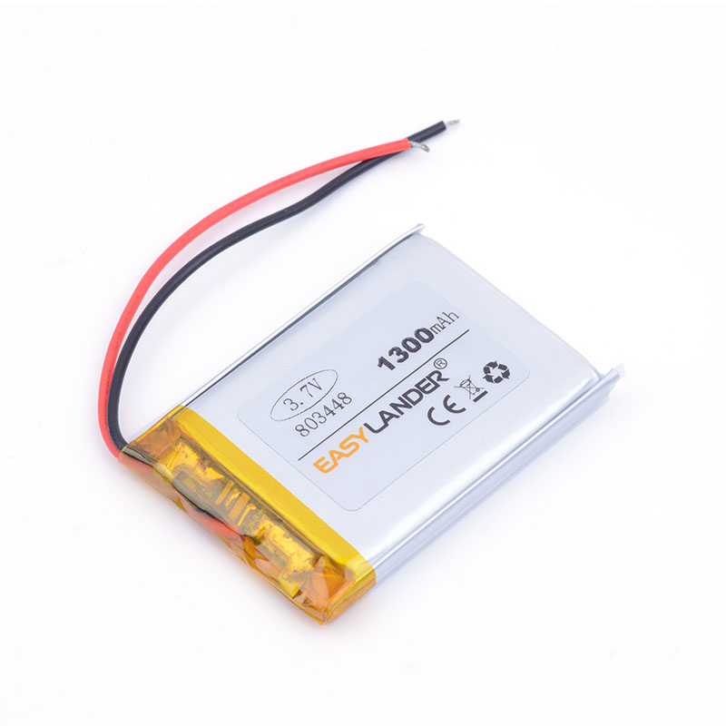 best battery brand 1pcs 3.7V,1300mAH 803448 polymer lithium ion / Li-ion battery for model aircraft GPS mp3 mp4 cell phone speak