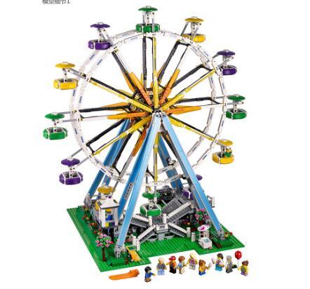 15012 City Street créateur série 2478 pièces grande roue modèle blocs de construction Kits jouets compatibles avec Legoings