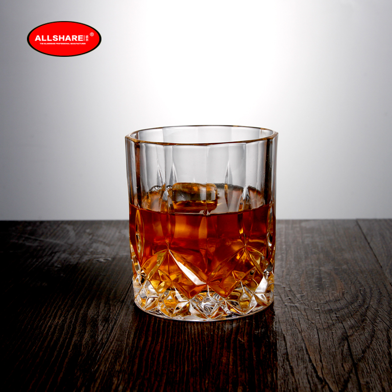 whiskey glass bottle set 06