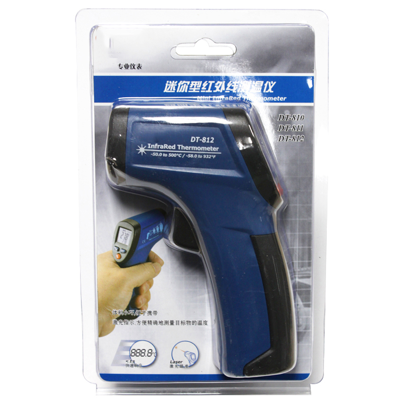 gradi termometro laser senza contatto termometro industriale pistola - Strumenti di misura - Fotografia 2