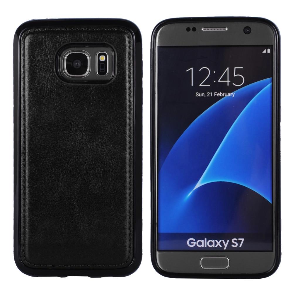 Samsung Galaxy S7 Edge Case- ի շարժական կաշվե - Բջջային հեռախոսի պարագաներ և պահեստամասեր - Լուսանկար 5