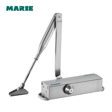 Automatic Hydraulic Arm Door Closer Stopper Two Speed Control Up to 40KG-65KG free shipping casting aluminum alloy automatic arm door closer mechanical speed control gate for door width 700 1100mm 45 65kgs