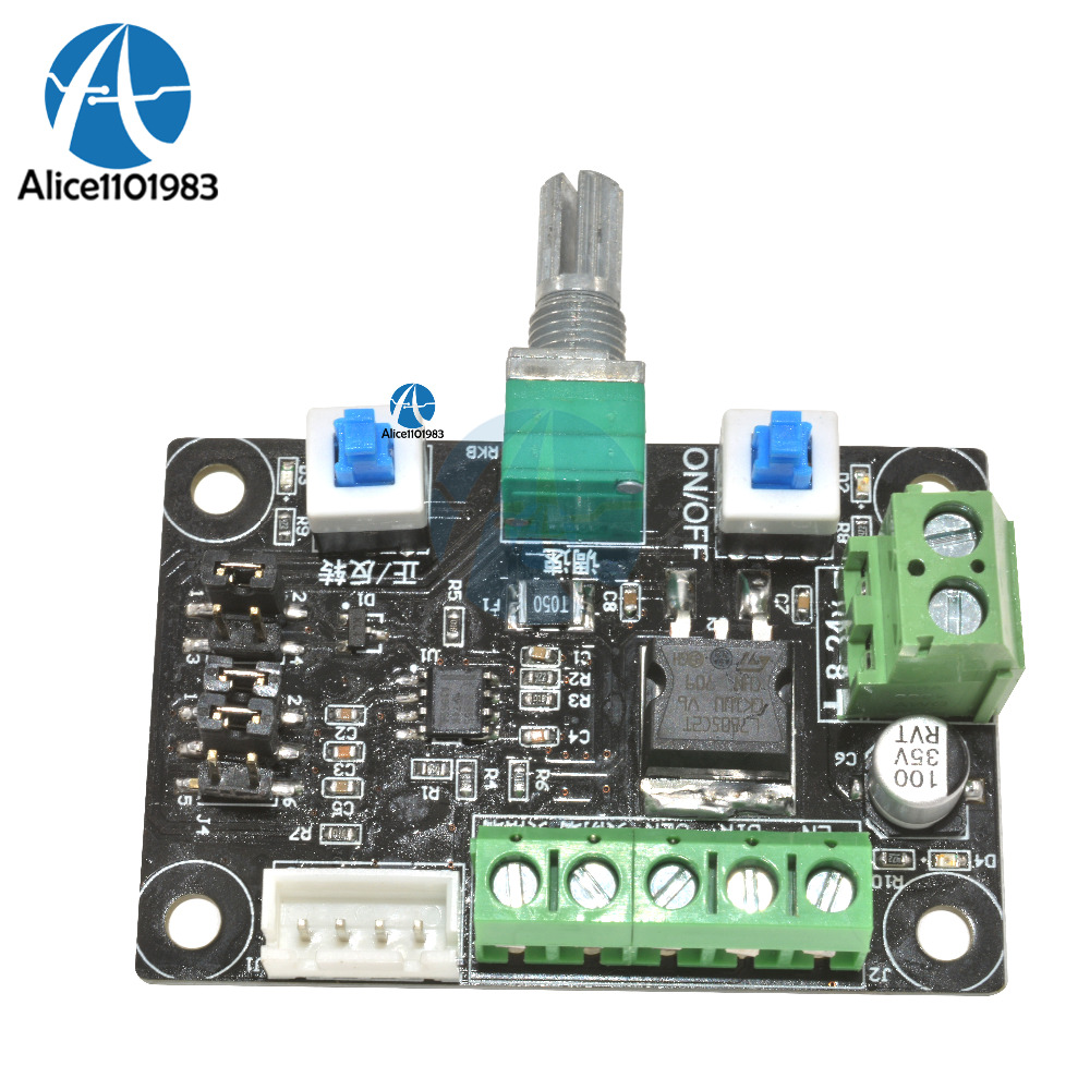 Pulse Generation Module Stepper Motor Speed Controller Control Dc Pwm Power Schematic Supply Signal Generator Drive Board In Integrated Circuits From