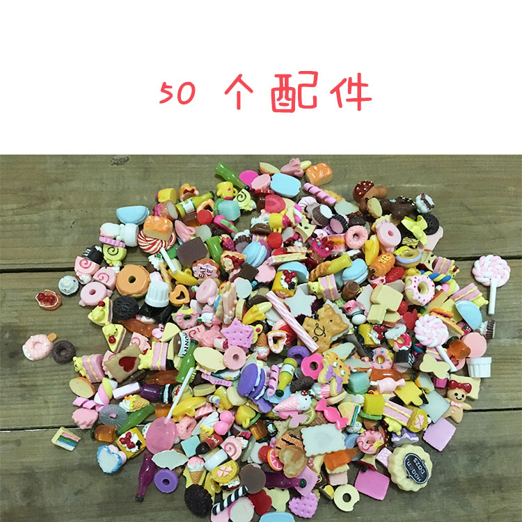 50pcs/set Food Doll House Doll Furniture Doll Accessories For BJD Doll Toys Girl Play Accessories For Barbie