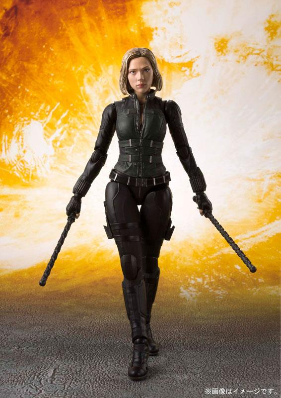 Figuarts SHF Avengers Infinity War Black Widow Action Figure New 15cm S.H