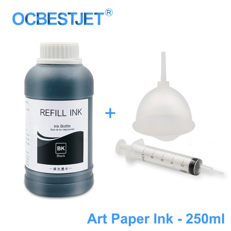 Ink Refill Kits Adaptable 250ml/bottle Art Paper Ink Art Pigment Ink For Epson T50 T60 P50 R200 R230 R260 R280 L1300 1390 1400 1410 1430 1500w T1100 T1110 Extremely Efficient In Preserving Heat Computer & Office