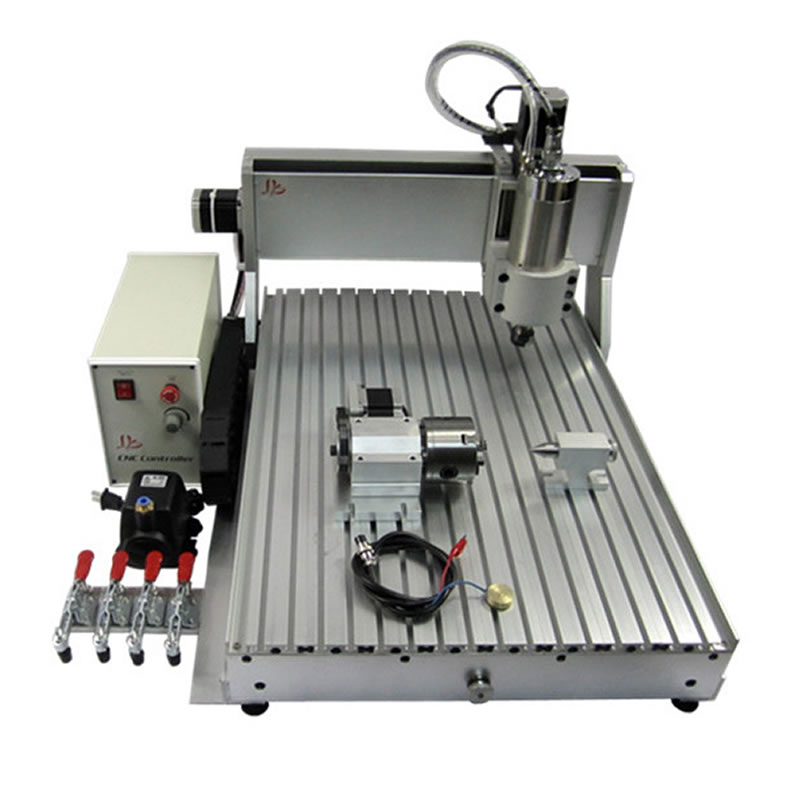 800W LY CNC 6040 Z-VFD Automatic 3D Furniture Sculpture Wood Carving CNC Router Machine for Wood Stone Metal 800w cnc wood carving machine 6040z s800 woodworking cnc router with ball screw upgraded from cnc 6040 metal pcb cnc machine