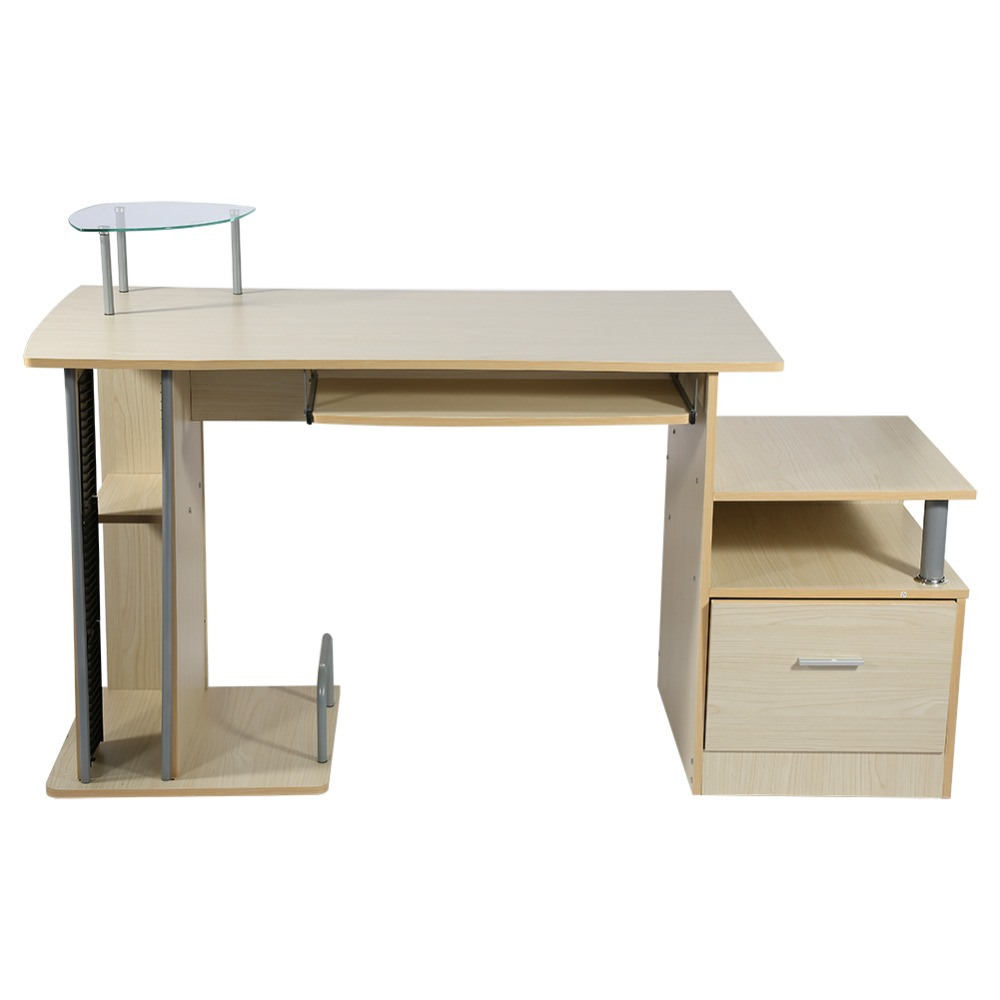 Home office computer workstation Multiple Modern Warehouse Computer Desk Shelf Home Office Wood Computer Workstation Writing Table Desks With Storage Rack Aliexpress Modern Warehouse Computer Desk Shelf Home Office Wood Computer