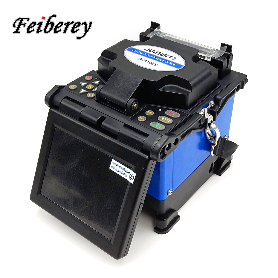 Jw4108s Automatic Arc Optical Fiber Fusion Splicer For