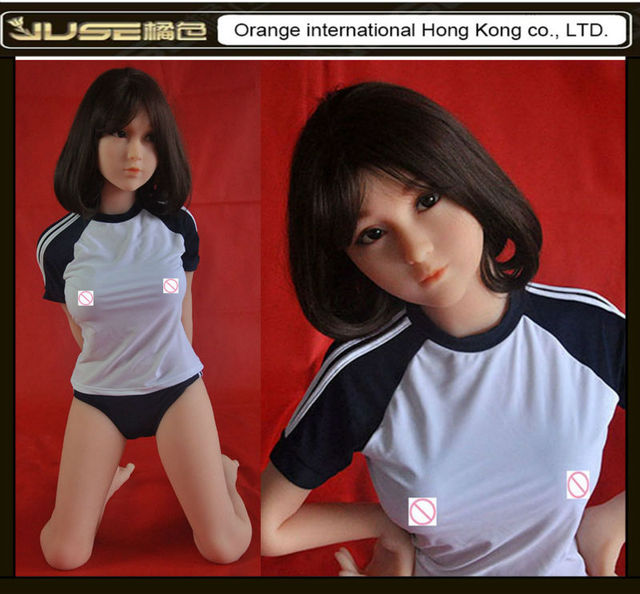 135cm Momo Top quality  japanese adult sex doll,lifelike realistic lovely oral sex dolls,solid silicone love doll for men,ST-235