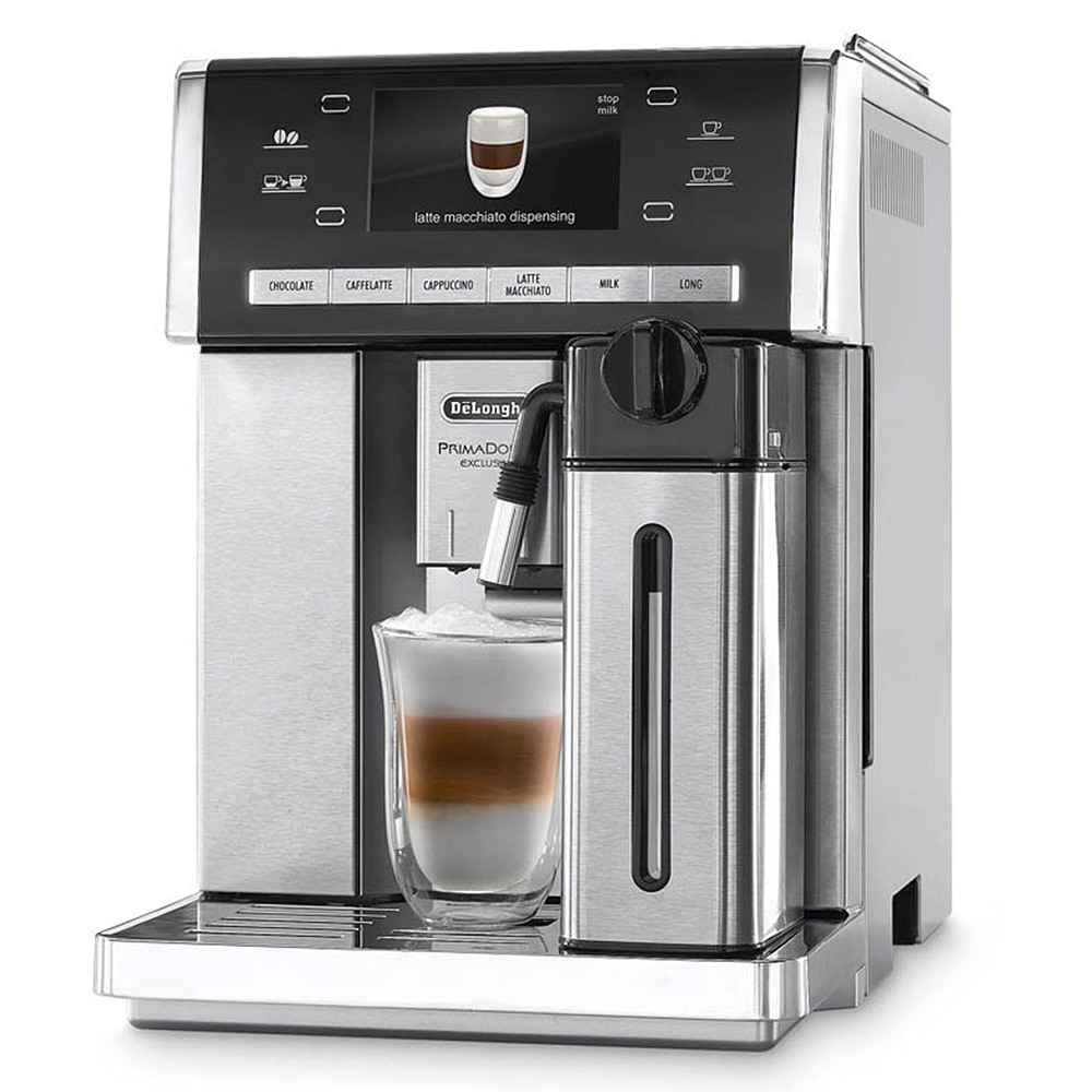 coffee machines Delonghi ESAM6904.M coffee espresso machines coffee maker home grain automatic bliger 40mm blue dial date coffee ceramics bezel colorful marks saphire glass automatic movement men s watch