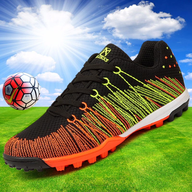 Mesh Soccer Shoes Football Boots Kids Boys Girl Flexible Flying Breathable New superfly botas de fuetbol Cleats voetbalschoenen  13