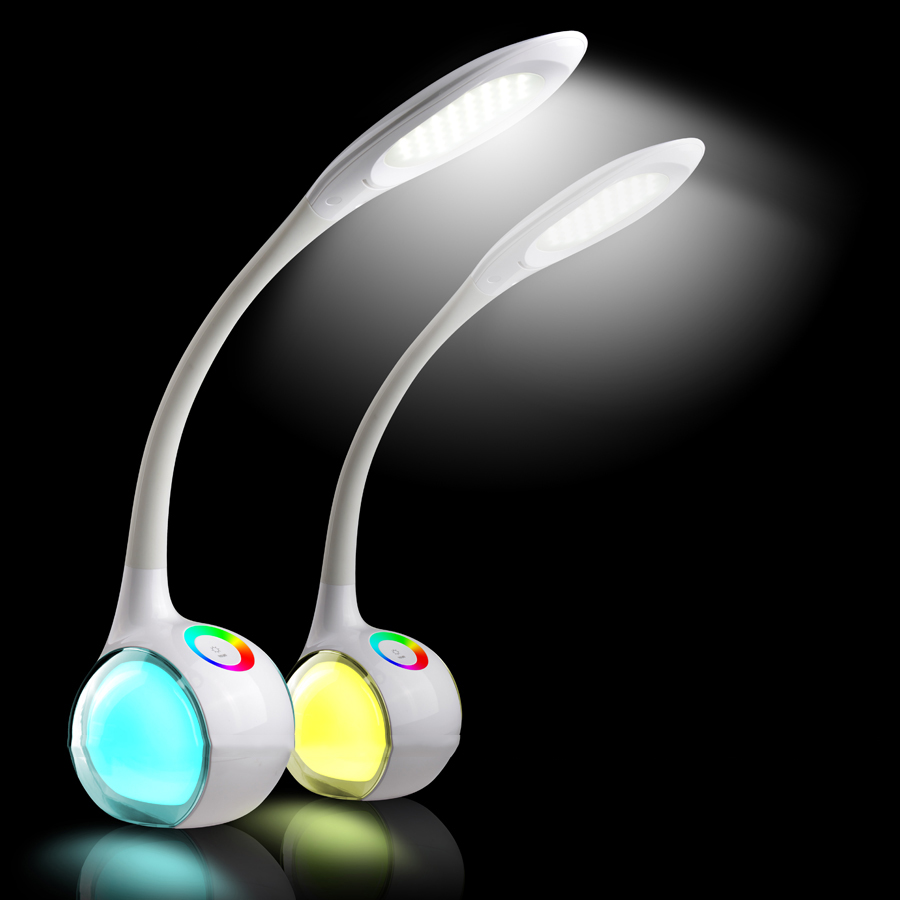 reading lamp bedroom bedside table led touch switch lamp