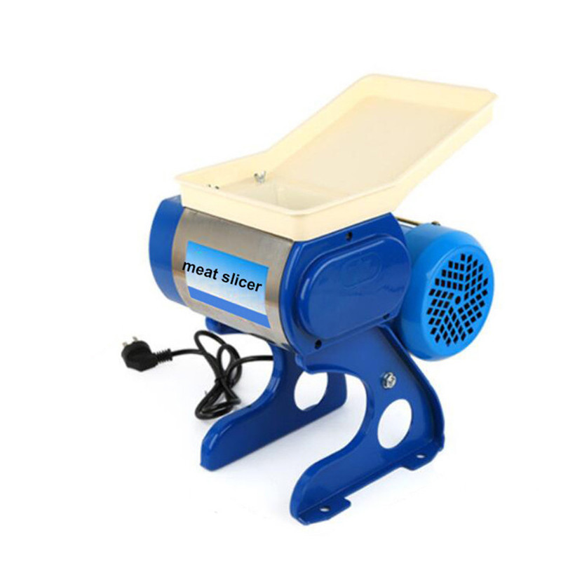 BEIJAMEI Multifunctional restaurant use electric meat grinder slicing machine home meat cutting slicer machine price beijamei stainless steel small home blade meat slicer mincer electric commercial meat grinder cutting machine
