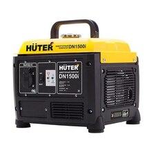 Генератор бензиновый инверторный HUTER DN1500i (Номинальная мощность 1100 Вт, выход 220 В/50 Гц, емкость топливного бака 4.2 л, 4-тактный двигатель)