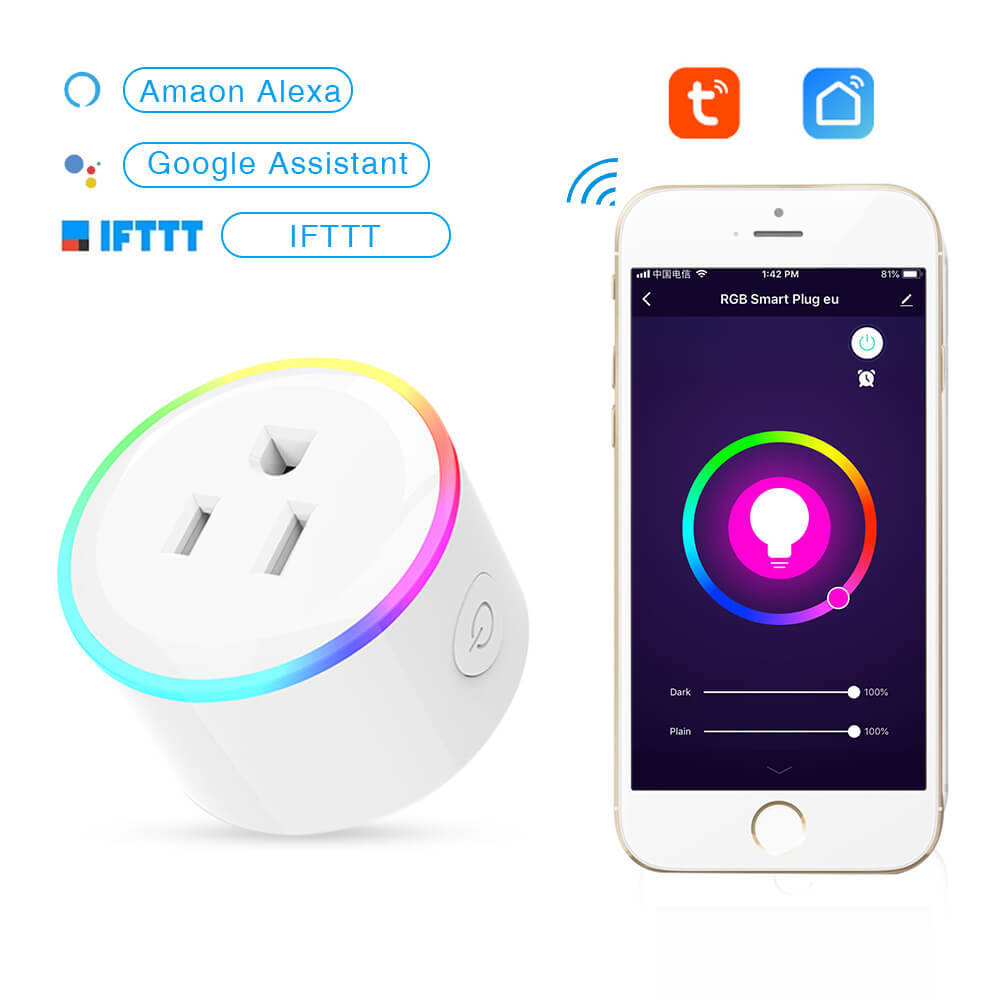 Alexa Smart Socket WiFi Phone Timing Switch  Remote  Control  Home Beauty