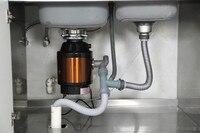 Творческий Кухня Еда отходов шлифовальные машины DC безопасный без лезвия низкий уровень шума управление воздушным потоком с помощью перек
