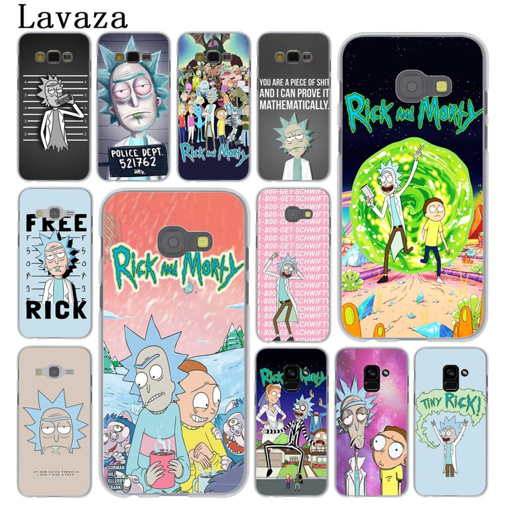 Lavaza Rick and Morty Season Hard Phone Case for Samsung