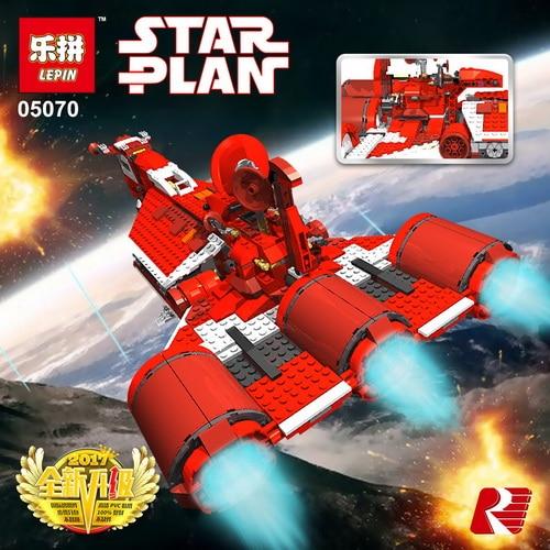 Lepin 05070 Star Series War Genuine 979Pcs legoing The Republic Model Cruiser Set Building Blocks Bricks Toys Model Gift 7665