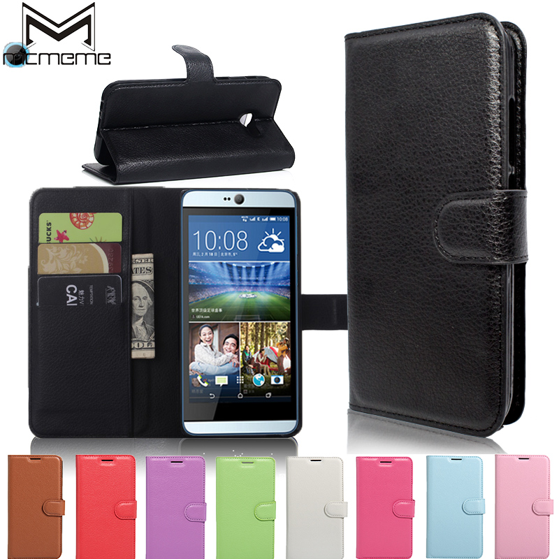 MCMEME Luxury Wallet Flip PU Leather Case For HTC Desire 820 620 530 300 510 516 650 610 616 626 700 816 825 826 828 eye 210 728