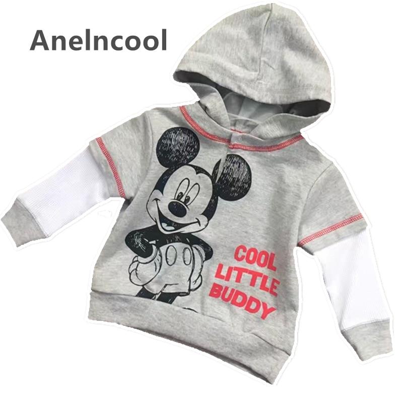 Anlencool Newbron Baby Boy Clothes Boys Jacket 2017 Spring Letter Boys Outwear Baby Brand Kids Coats Boys Baseball Sweatershirt