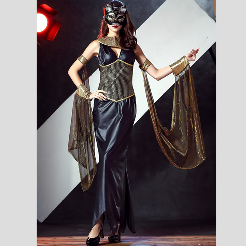 Big Discount Women Egyptian Cleopatra Costume Sexy Greek Goddess Leather Costumes Adult Cleopatra Costumes Dress Female Greece Queen Costumes 91 Special Use Toys System 53