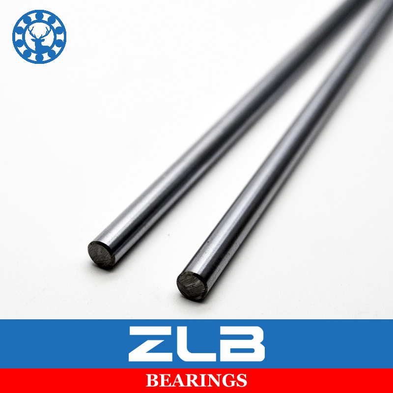 2pcs linear shaft 8mm wcs bearing axis router round chrome
