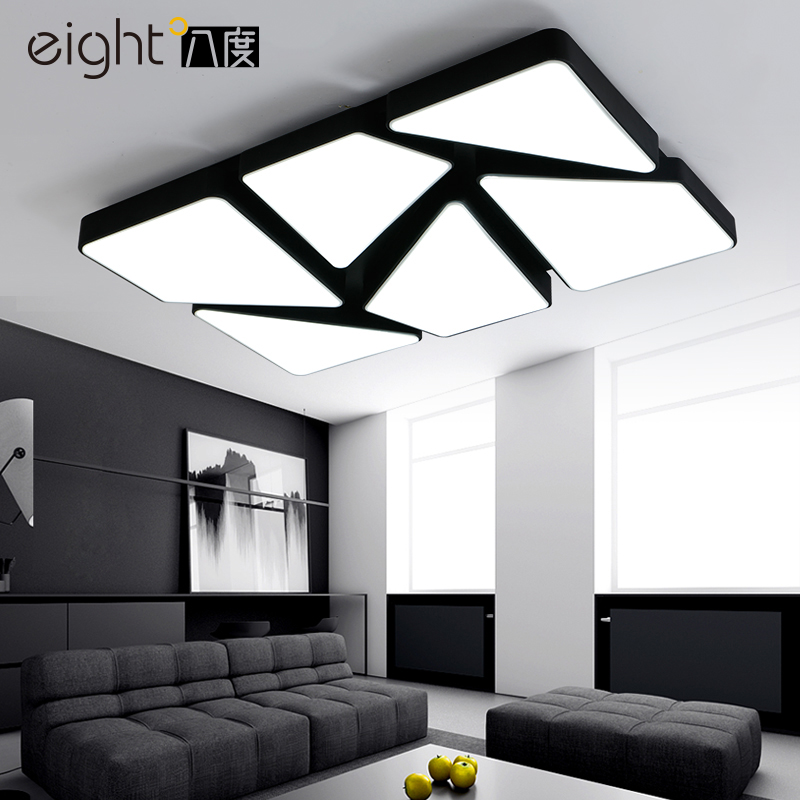 Modern iron acrylic LED ceiling lights home living room lamp creative fixtures ceiling lamps children bedroom Ceiling lighting chandeliers lights led lamps e27 bulbs iron ceiling fixtures glass cover american european style for living room bedroom 1031