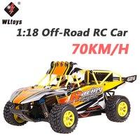 Wltoys K929 B высокое Скорость 70 км/ч RC автомобилей 1:18 4WD внедорожных RC дрейф автомобиля дистанционного Управление автомобиля радио управление Ка