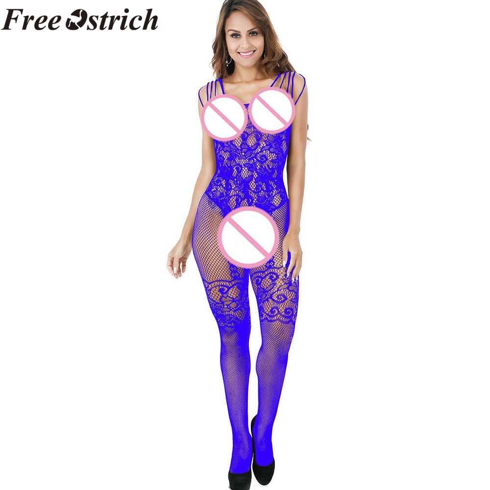 Бесплатная Страусиная Женская Сексуальная кружевная сексуальная жизнь платья цельная одежда удобное мягкое нижнее белье пижамы цельные чулки