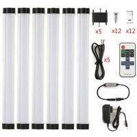 LED Strip 6p Set 110 240V SMD2835 Warm White White 0 3M 3W EU US With
