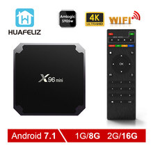 X96 mini android tv box Android