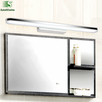 Minimalismo moderno led luminaria lâmpada de parede lustre espelho do banheiro acrílico led lamparas luminárias|Luminárias de parede| |  -