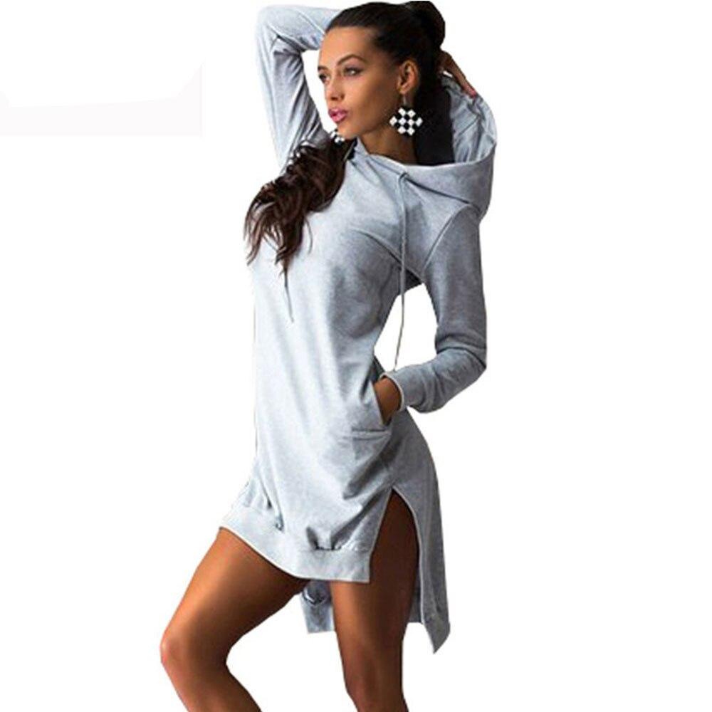 Women Hooded Loose Sweatshirt Hoodies Female Casual Full Sleeve Women Pullover Letter Print Plus Size Fleeces Hoody Tops