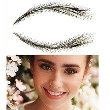 Plana para sobrancelhas reta sobrancelhas com 100% artesanal cabelo arco sobrancelhas
