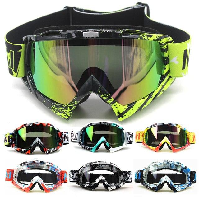 Lunettes de Moto Nordson lunettes Oculos cyclisme MX hors route casque Ski Sport Gafas pour Moto Moto Dirt Bike lunettes de course