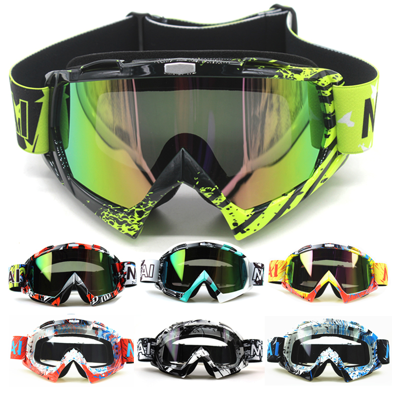 New Motocross Goggles Glasses Oculos Cycling MX Off Road Helmet Ski Sport Gafas For Motorcycle Dirt Bike Racing Goggles fox racing youth main goggles roll off kit