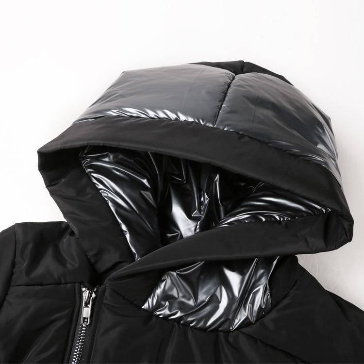Image 5 - Новинка зимы Для мужчин куртки Утепленные зимние куртки Для мужчин s хлопковое пальто Для мужчин теплые парки для мальчиков утепленная толстовка с капюшоном верхняя одежда F2126-in Парки from Мужская одежда
