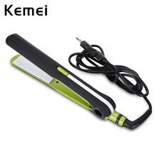 Cheap price PTC heating body Professional Portable Ceramic Hair Styling Machine Kemei KM – 8950 Tourmaline Ceramic Hair Straightener Curler