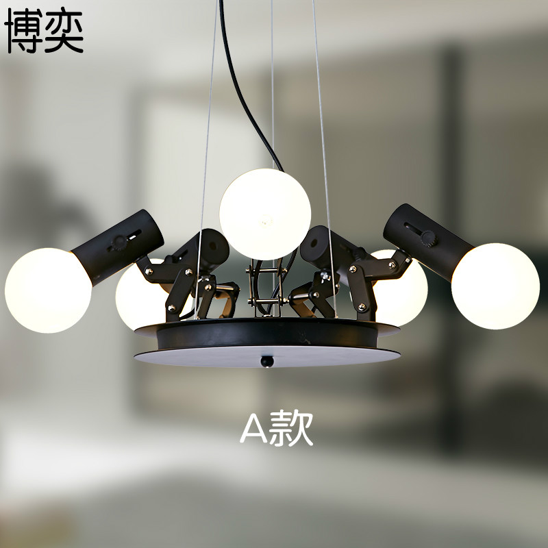 Modern American Personality lamp Spider Extendable light Pendant light Scalable Lamp home / office / bar decoration light