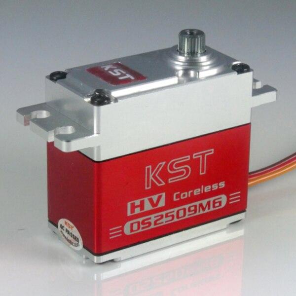 Free shipping KST HV DS2509MG Digital Coreless Full Metal Steering Servo For RC Car Truck