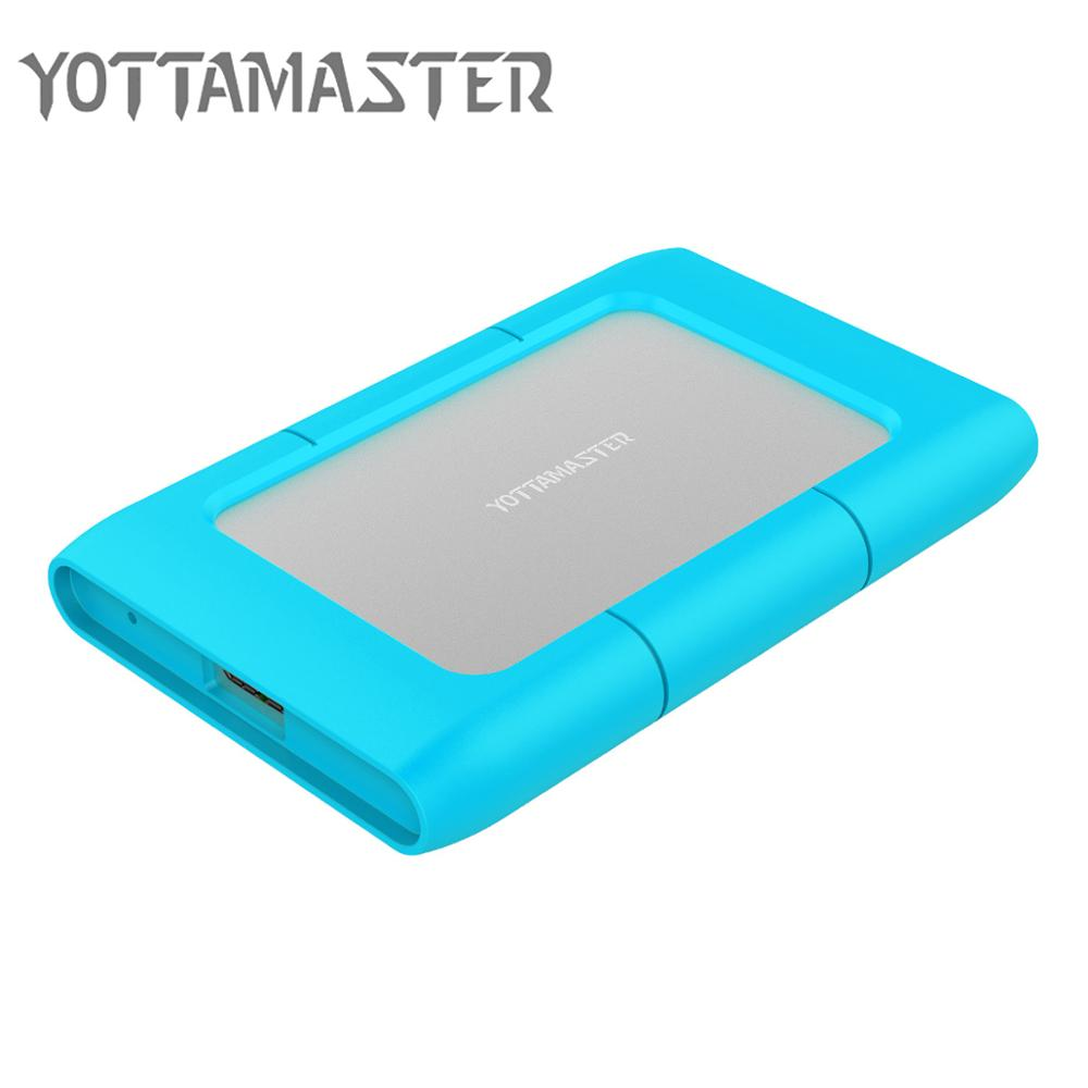 Yottamaster Aluminum 2.5 Inch HDD Case Sata To USB 3.0 Adapter High Speed Box Hard Drive Enclosure For Samsung Seagate SSD