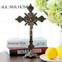 The Catholic Church of Christ Jesus cross religion crafts decorative ornaments suffering the image of God