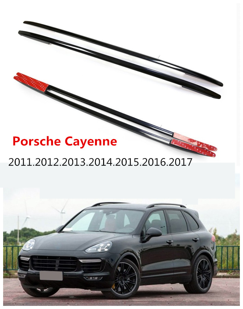 Auto Roof Racks Luggage Rack For Porsche Cayenne  2011.2012.2013.2014.2015.2016.2017 High Quality Aluminum Paste  Installation In Cargo Management From ...