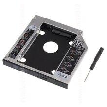 SATA 22pin HDD HD жесткий диск Корпус для жесткого диска чехол для 12,7 мм Универсальный ноутбук CD/DVD-ROM Оптический отсек